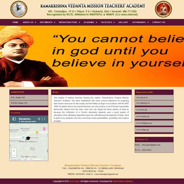 Ramakrishna Vedanta Mission Teachers Academy