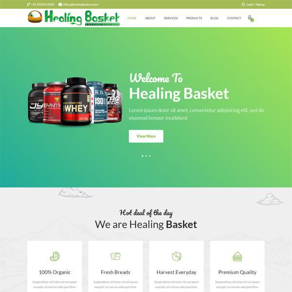 Healing Basket