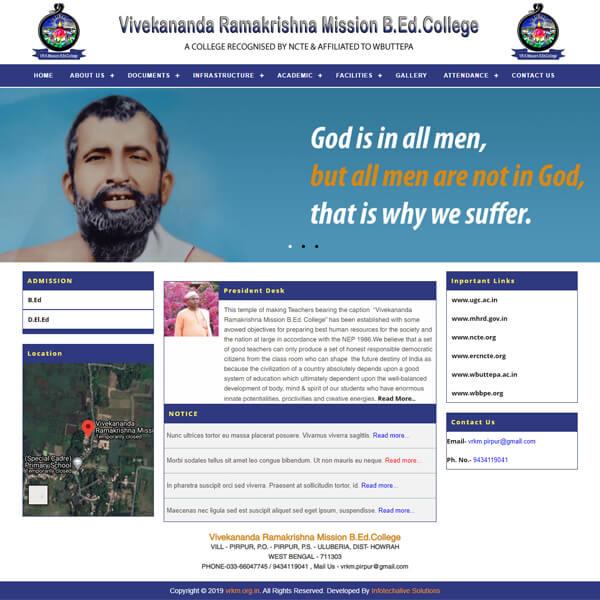 Vivekananda Ramakrishna Mission B.Ed. College